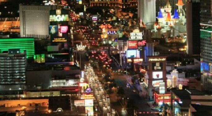 Las Vegas Strip October Gaming Wins Down 5.06%