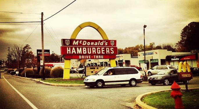 McDonald's October Comparable Sales