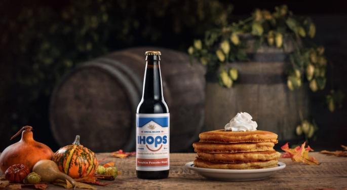 Breakfast Brew: IHOP's Pancake-Infused Stout Joins List Of Restaurant-Branded Beers