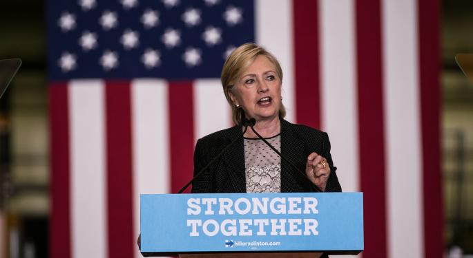 These Leveraged Sector ETFs Merit Attention As Clinton Pushes Ahead