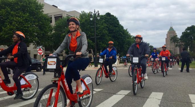 MoGo, Detroit's Public Bike Share System, Goes Online