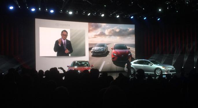 From The Driver's Seat At Detroit's NAIAS: Ford And Toyota Steal Day One's Spotlight