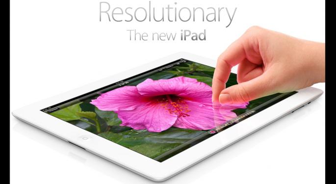 "Apple Forced to Release iPad 4 Because of ""Stale"" Sales"