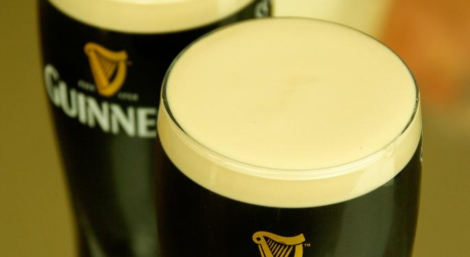 For Guinness Beer Owner Diageo, March Is The Money Month