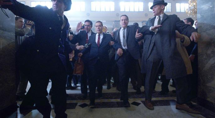 Netflix Ready For Its Closeup With 'Irishman' Debut