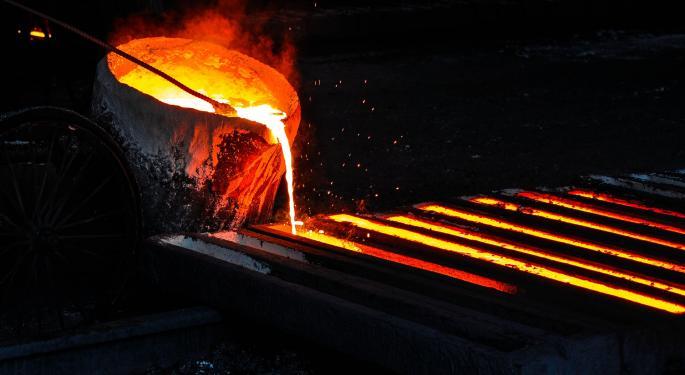 Heavy Metal: Goldman Downgrades Kaiser Aluminum, Upgrades Commercial Metals