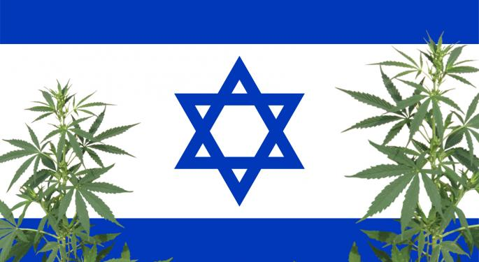 Israeli Cannabis Company Signs Deal With Scotts Miracle-Gro Subsidiary