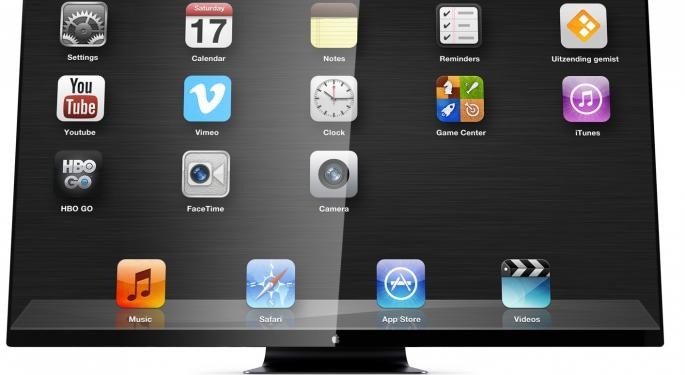 Korea Herald Reports Unnamed Korean Firm Making 65-inch Sample Displays for Apple iTV's