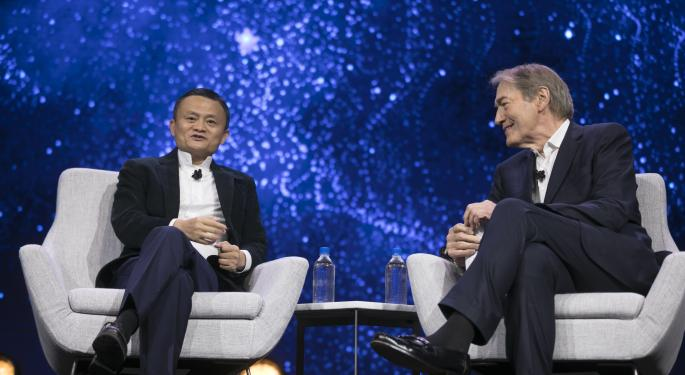 Alibaba Links Entrepreneurs With China, A Market Jack Ma Says Can't Be Ignored: 'You Will Miss The Future'