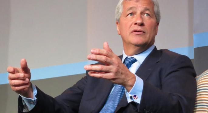 Jamie Dimon Takes The Plunge, Leads JPMorgan And US Banks Into Cryptocurrency