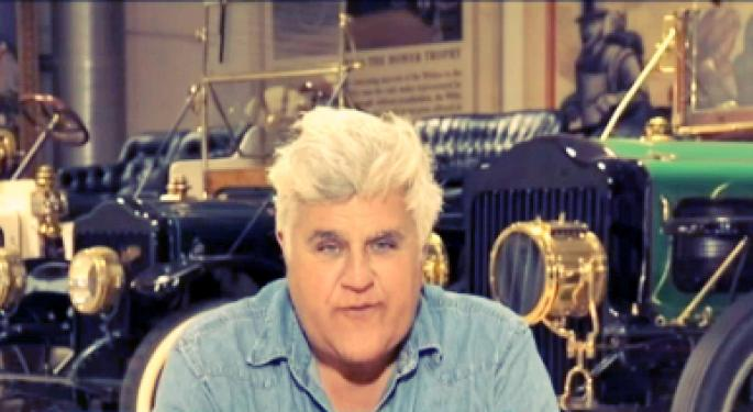 Jay Leno Hits The Gas Back To TV