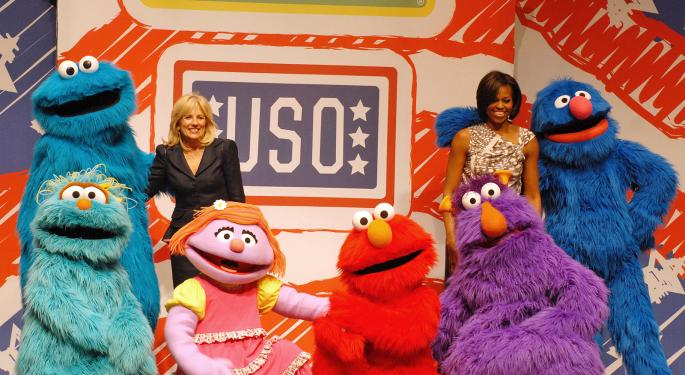 Welcome To Sesame Street, Julia! You're In Good Company