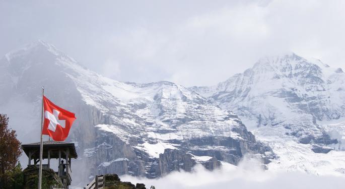 Swiss Miss: Switzerland Skirts Recession, But ETFs Struggle
