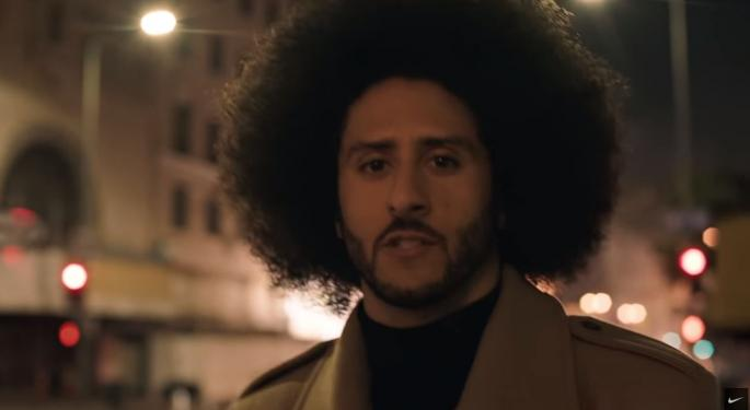 Nike's Colin Kaepernick Ad 'Had The Intended Effect,' Canaccord Genuity Says After Survey
