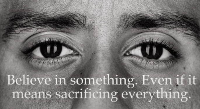 Nike Signs Colin Kaepernick For 30th Anniversary 'Just Do It' Campaign