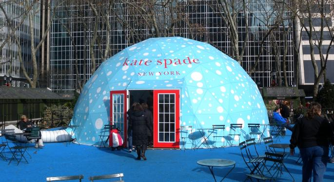 Kate Spade Sits In The 'Penalty Box,' But That Could Be A Good Entry Point