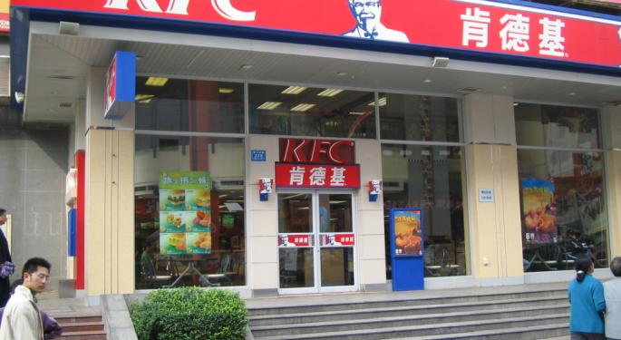 Oppenheimer: Yum China Takeout Speculation Is Intriguing, But Shares No Longer Undervalued