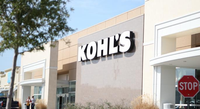 Jefferies Cautious Ahead Of Kohl's Q3 Results, Notes 'Warm Weather Likely A Near-Term Detriment'