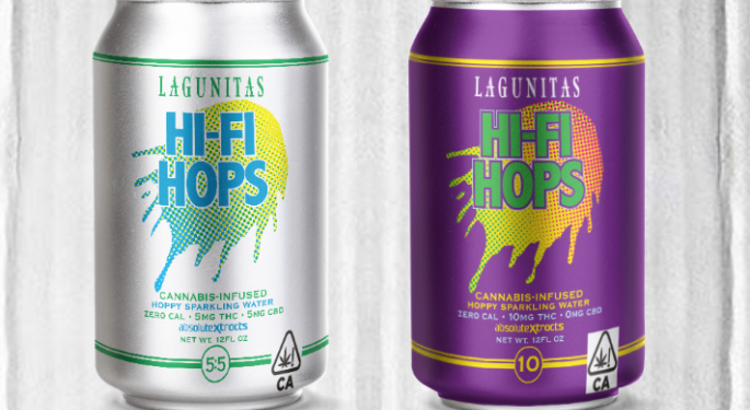 Hi-Fi Hops: Lagunitas To Launch Cannabis-Infused Sparkling Water In July