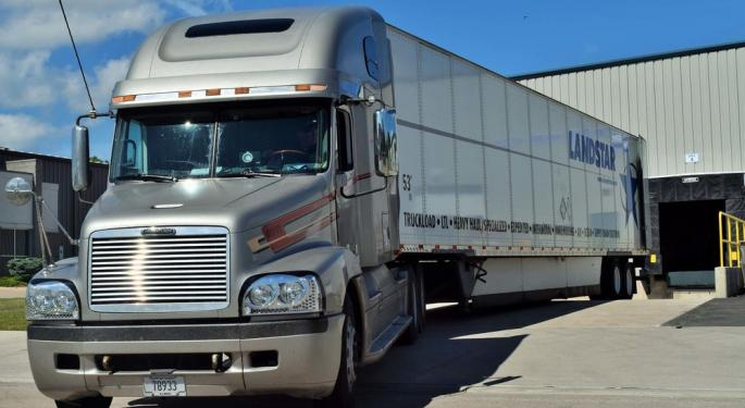 All Good Numbers For Landstar, And They're Adding Drivers To The Network