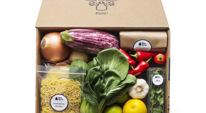 Analysts See Hope For Embattled Blue Apron After Q2 Sales Miss