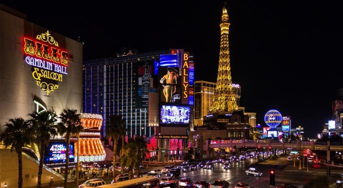 Vegas Strip Revenue Slumps In April