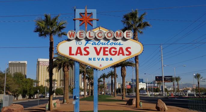Vegas Strip Revenue Jumps 9% In March