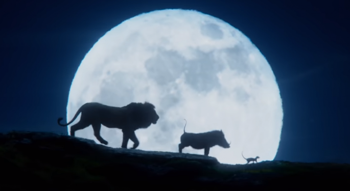 'Lion King' Release Might Be A Good Time To Look At Disney's Stock