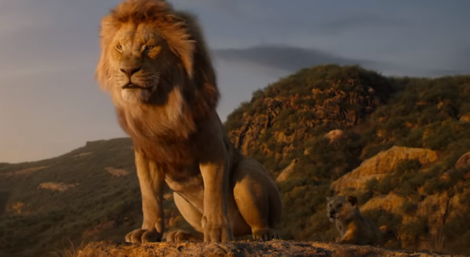 'Lion King' Roars To $185M At The Box Office, Exceeding Disney's Expectations