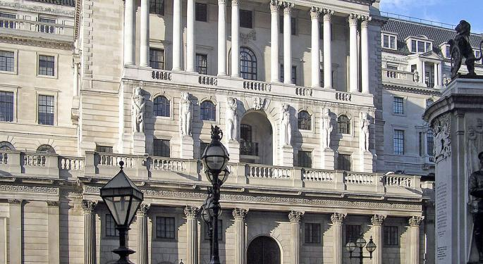 This Day In Market History: Bank Of England Founded