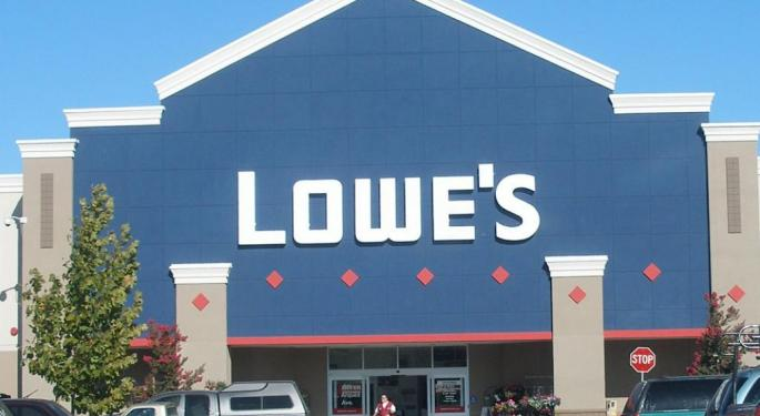 Lowe's Shares Jump On Q3 Earnings Beat