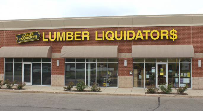 Analysts Encouraged By Lumber Liquidators Legal Process