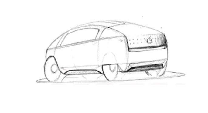 The Apple Car Is Here...If You Believe This Rumored Concept Art