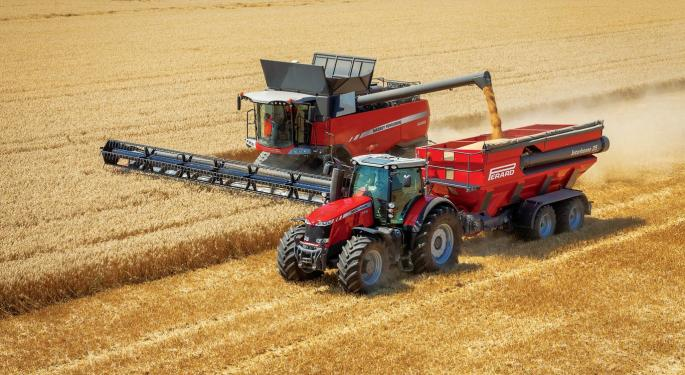 Bank Of America Advises Selling AGCO Shares
