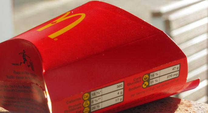 Bank Of America Likes McDonald's Stock A Little More