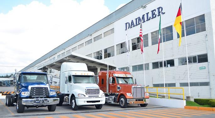 Mexico Exports Of Commercial Trucks To U.S. Jumps 30 Percent In First Quarter