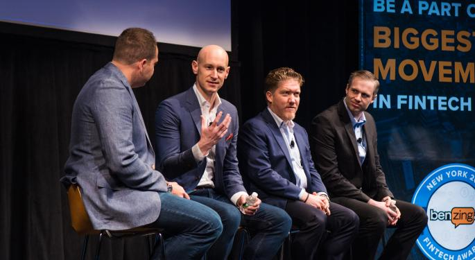 The 2018 Benzinga Global Fintech Awards Winners' Panel: How They Made Their Companies Attractive To Investors