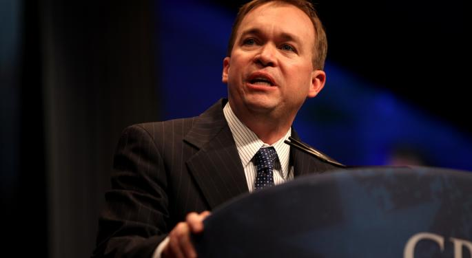 8 Stocks To Play The Mulvaney Era At The CFPB