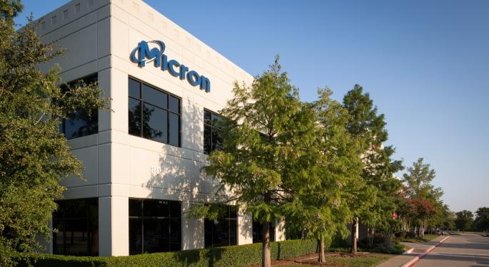 Technician: Micron Could Rally Another 25%