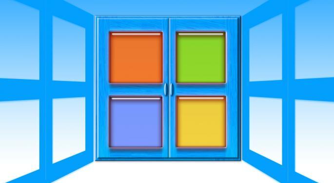 Microsoft's Q1 Print Reinforces Bullish Sell-Side Views