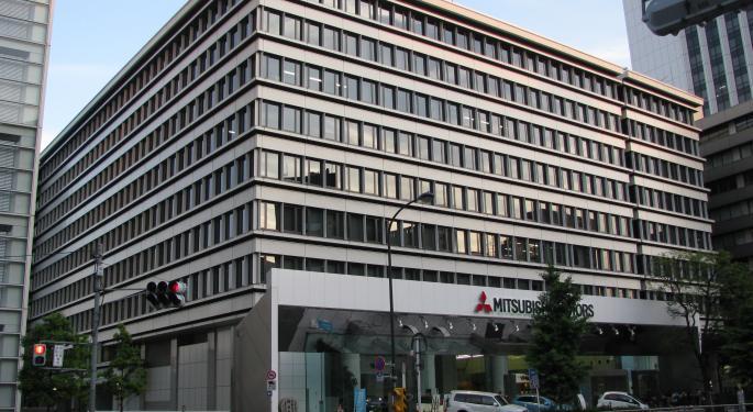Mitsubishi Motors' Shares Fall Following Raids By German Authorities