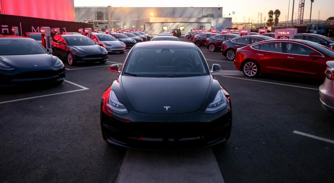Tesla's Q1 Falls Short Of The Street's Low Expectations