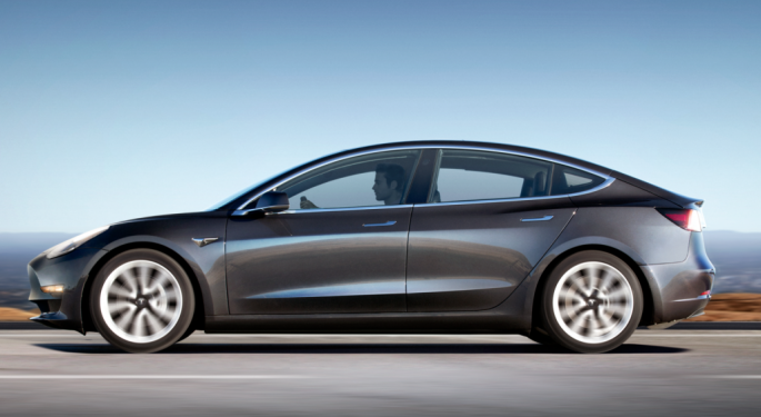 Tesla Model 3s Can Earn Subsidies In China