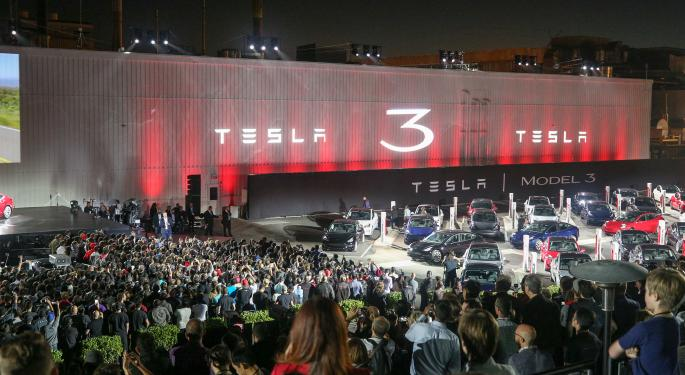 Elon Musk Takes Aim At Media Again As Tesla's Stock Moves Lower
