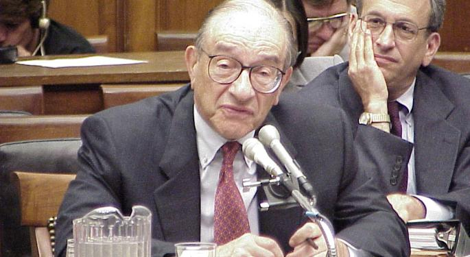 This Day In Market History: Alan Greenspan's Famous 'Irrational Exuberance' Speech
