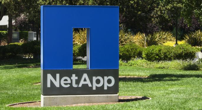 NetApp Poised For 'Continued Outperformance'; BMO Upgrades