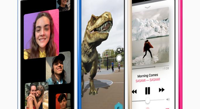 Apple Launches New iPod Touch