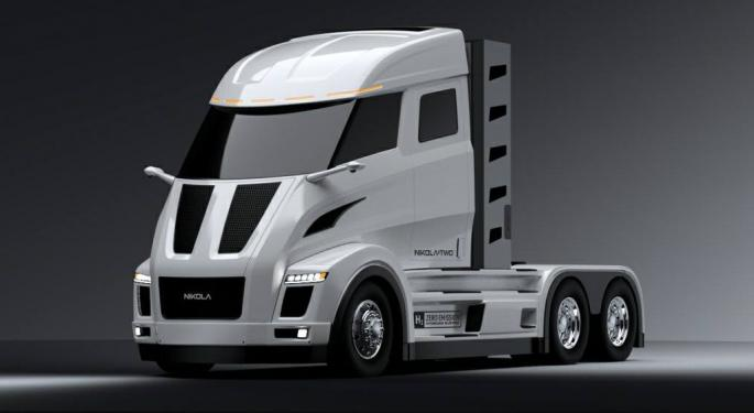 Nikola Motor Unveils Trucking's Hydrogen Future
