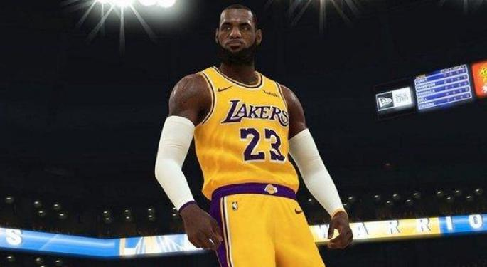 Bank Of America Calls Take-Two's NBA Deal A 'Vote Of Confidence'