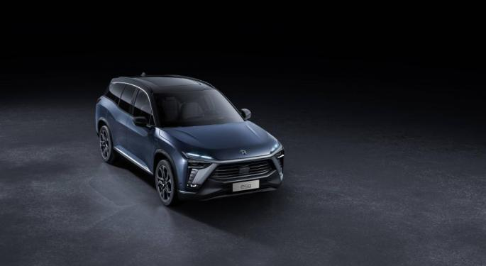 4 Reasons Nio Shares Are Higher Despite Sales Warning